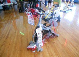 Team #14 E.R. decorated Bike
