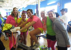 Team #21 the PAH Pedalers - They were the brightest team there!