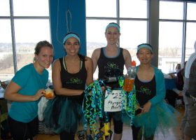 Team #23 Physique Boutique - they were a fashionable team as they put in their all!
