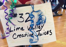 Tean #32 Lime Valley Creative Juices Sign