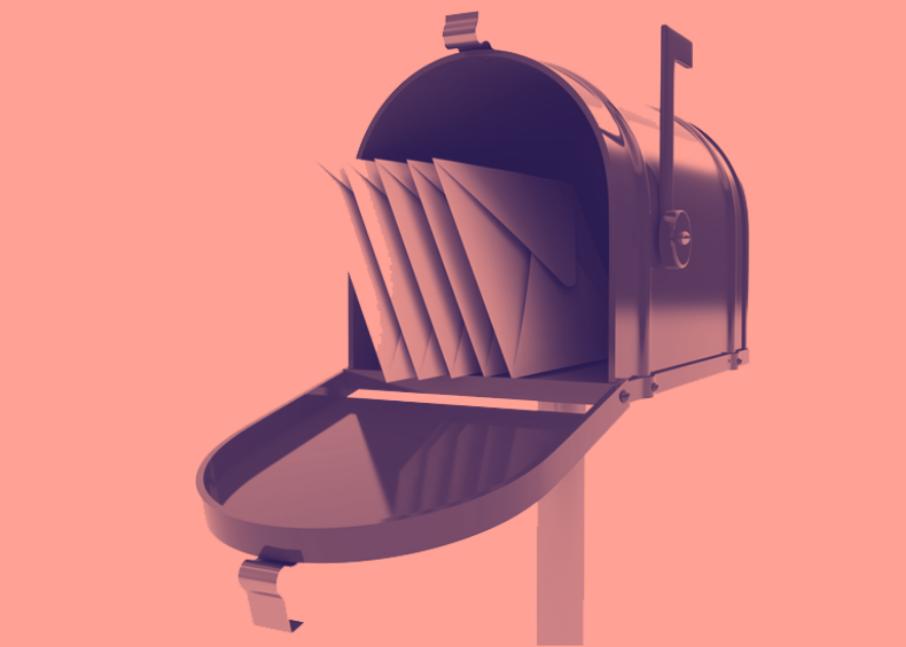 Mailbox Coral