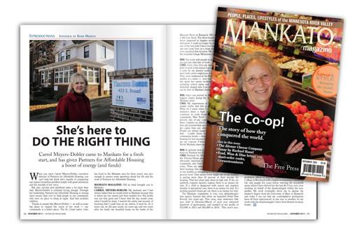 Mankato Magazine PAH Article