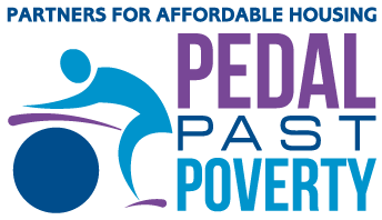 Pedal Past Poverty Logo